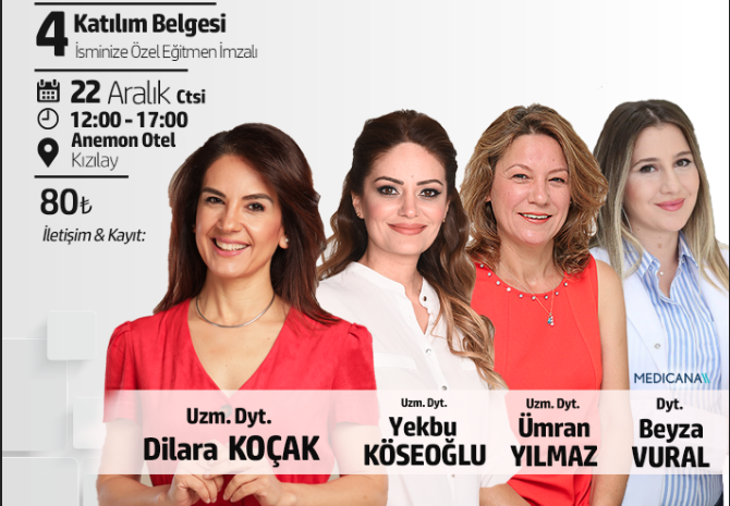 Ankara Beslenme ve Diyetetik Zirvesi