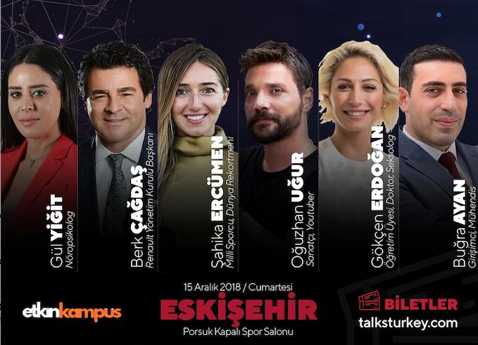 TalksTurkey Eskişehir / Kişisel Gelişim ve Kariyer Zirvesi