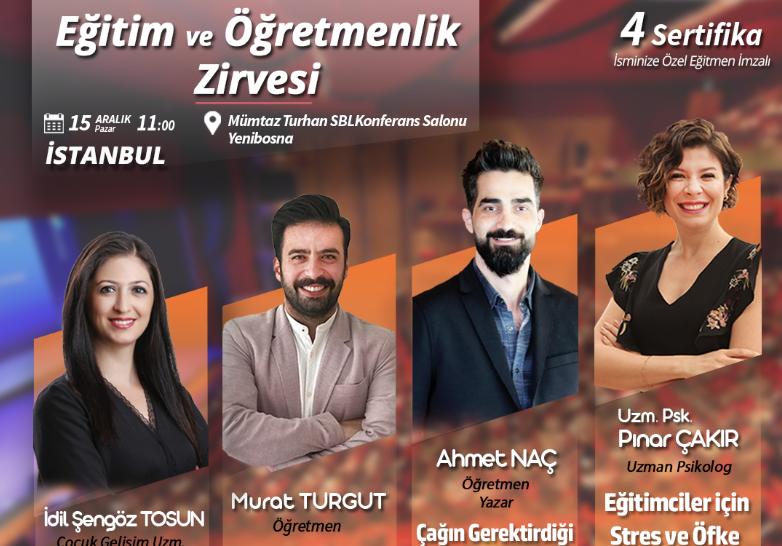 İstanbul Eğitim ve Öğretmenlik Zirvesi