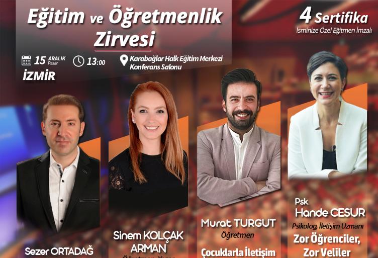 İzmir Eğitim ve Öğretmenlik Zirvesi