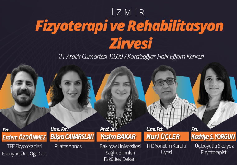 İzmir Fizyoterapi ve Rehabilitasyon Zirvesi