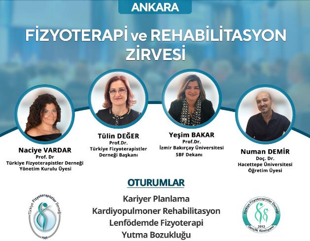 Ankara Fizyoterapi ve Rehabilitasyon Zirvesi
