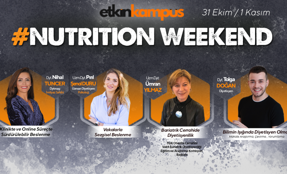 """Nutrition Weekend"""