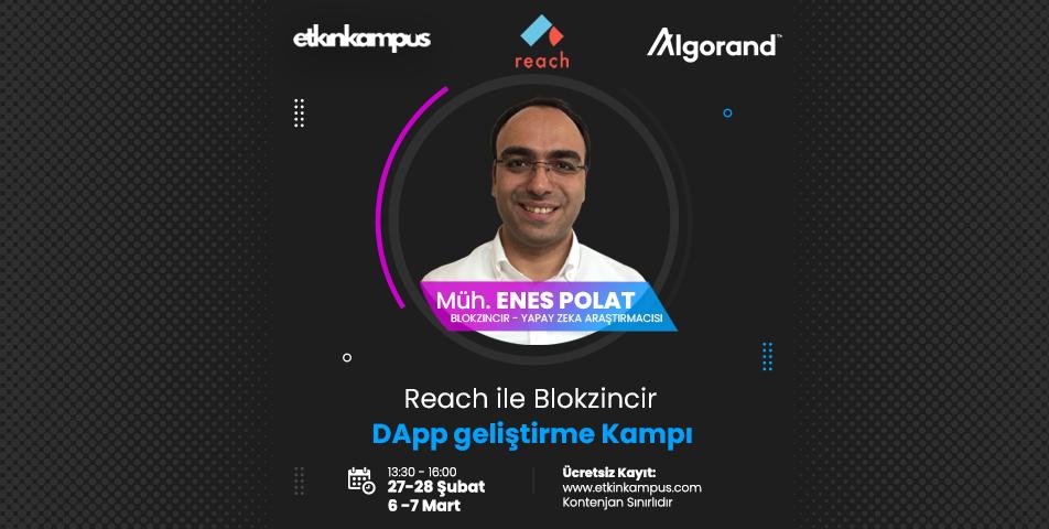 Reach&Algorand ile Blokzincir Dapp Geliştirme Kampı