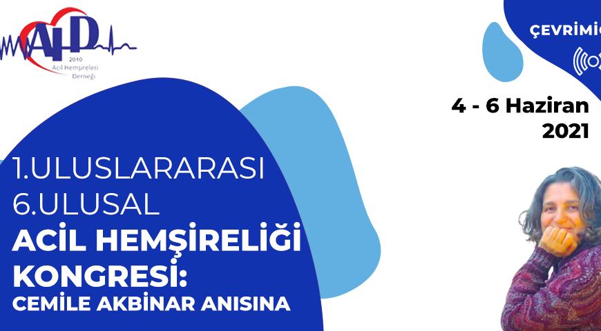 ULUSLARARASI ACİL HEMŞİRELERİ KONGRESİ / INTERNATIONAL EMERGENCY NURSING CONGRESS